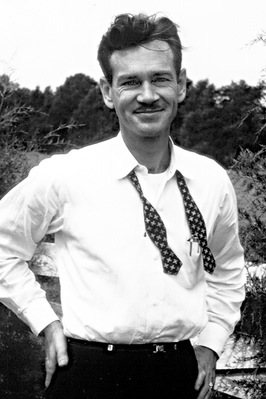 Dr. Tune, just after purchasing the farm in 1968.