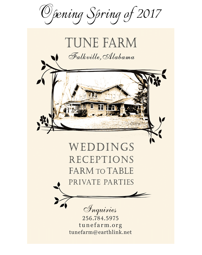 North Alabama Tune Farm Weddings and Events